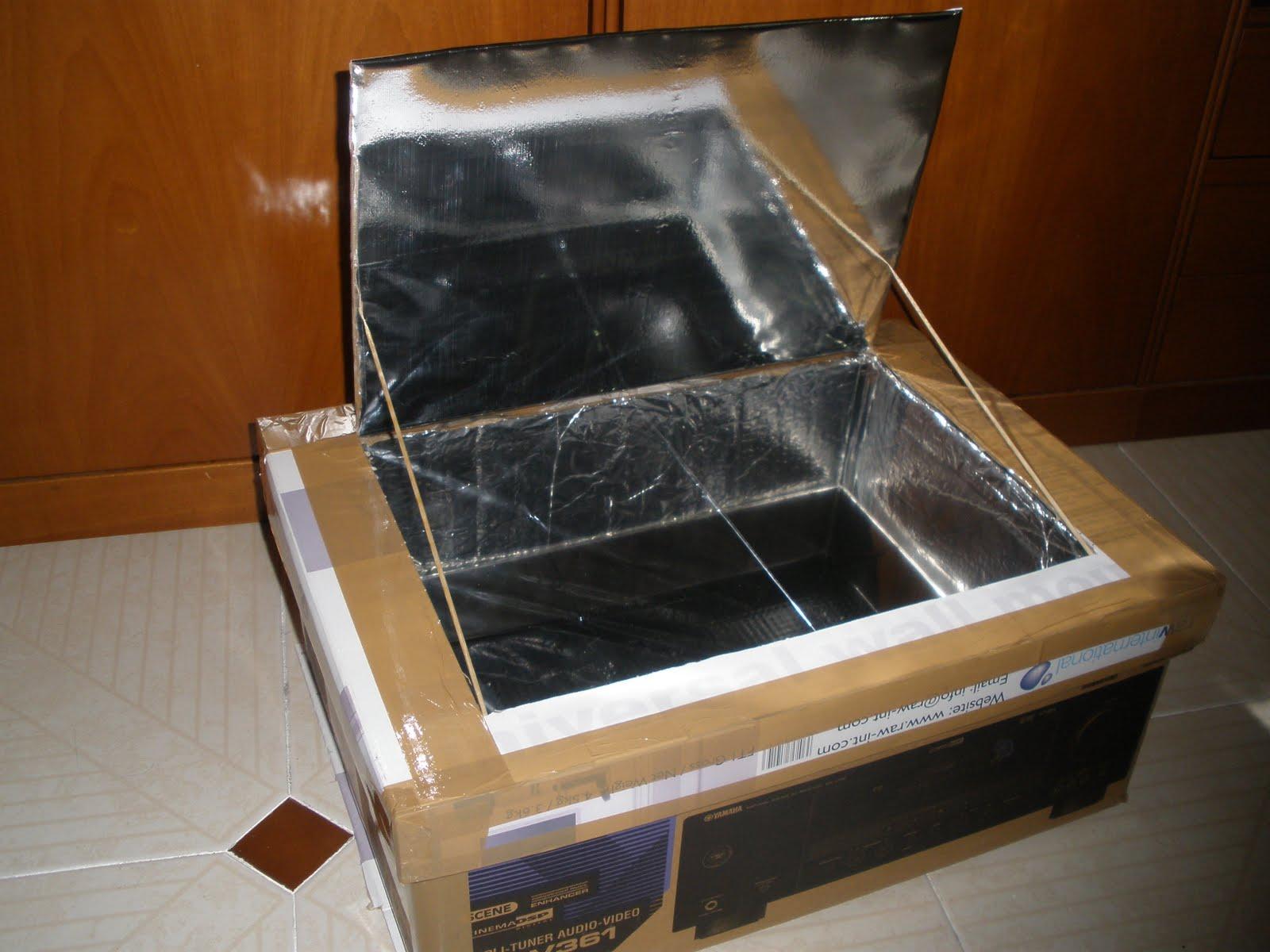Supervivencia cocinas solares las monedas de judas for Planos para construir una cocina solar