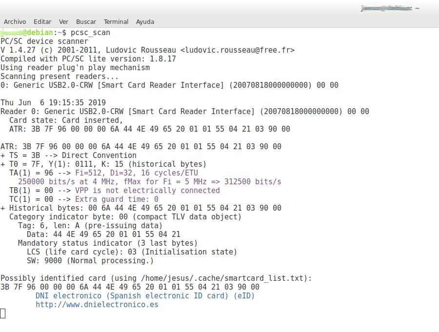 Instalación del DNI electrónico en la distro de GNU/Linux
